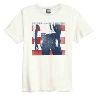 t-shirt metal uomo Bruce Springsteen - BORN IN THE USA - AMPLIFIED, AMPLIFIED, Bruce Springsteen