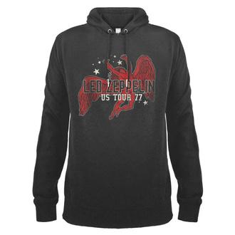 felpa con capuccio uomo Led Zeppelin - Icarus 77 Tour - AMPLIFIED, AMPLIFIED, Led Zeppelin