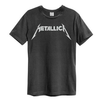 t-shirt metal uomo Metallica - LOGO - AMPLIFIED, AMPLIFIED, Metallica