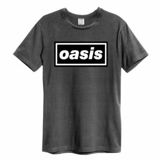 Maglietta da uomo OASIS - LOGO - CHARCOAL - AMPLIFIED, AMPLIFIED, Oasis