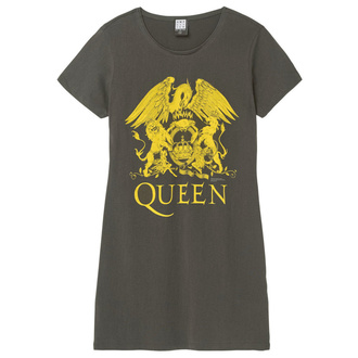 Da donna vestito QUEEN - YELLOW CREST - CARBONE - AMPLIFIED, AMPLIFIED, Queen