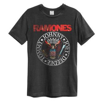 t-shirt metal uomo Ramones - Vintage Sael - AMPLIFIED, AMPLIFIED, Ramones
