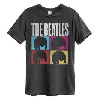 t-shirt metal uomo Beatles - HARD DAYS NIGHT - AMPLIFIED, AMPLIFIED, Beatles