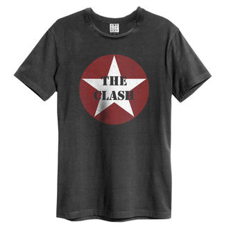 t-shirt metal uomo Clash - Star Logo - AMPLIFIED, AMPLIFIED, Clash