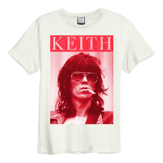 Maglietta da uomo ROLLING STONES - KOOL KEEF - bianco vintage - AMPLIFIED, AMPLIFIED, Rolling Stones