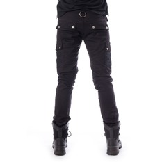 pantaloni Uomo Chemical Black - ANDERS - NERO, CHEMICAL BLACK