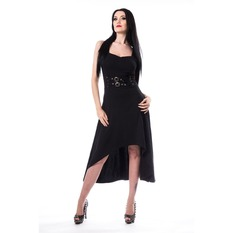 Vestito Da donna Poizen Industries - ANNI - NERO, POIZEN INDUSTRIES