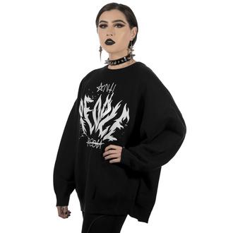 Maglione da donna KILLSTAR - Anti People Batwing Knit Sweater, KILLSTAR
