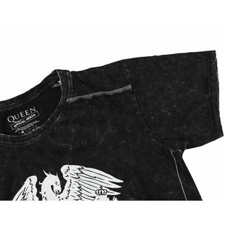 Maglietta da uomo Queen - Classic crest snow wash - ROCK OFF, ROCK OFF, Queen