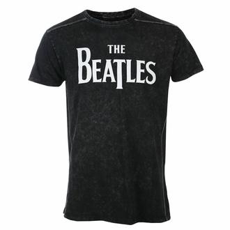 Maglietta da uomo Beatles - Drop T Logo - Snow Wash - ROCK OFF, ROCK OFF, Beatles