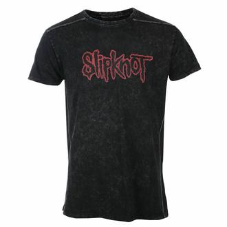 Maglietta da uomo Slipknot - Logo - Snow wash - ROCK OFF, ROCK OFF, Slipknot