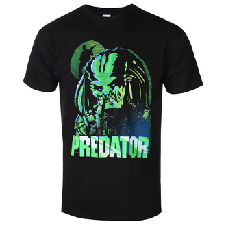 t-shirt film uomo Predator - GREEN LINEAR - PLASTIC HEAD, PLASTIC HEAD, Predator