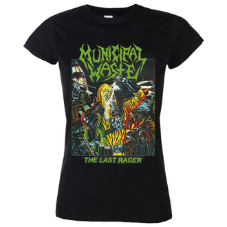 t-shirt metal donna Municipal Waste - The last rager - NUCLEAR BLAST, NUCLEAR BLAST, Municipal Waste