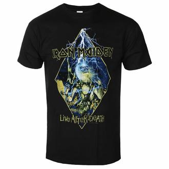 Maglietta da uomo Iron Maiden - Live After Death Diamond BL - ROCK OFF, ROCK OFF, Iron Maiden
