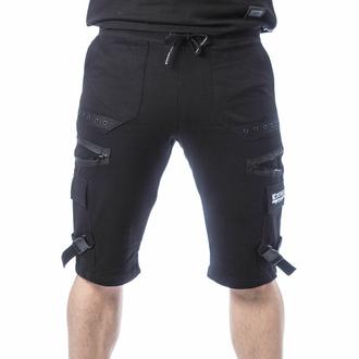 Pantaloncini da uomo CHEMICAL BLACK - ASCELIN - NERO, CHEMICAL BLACK