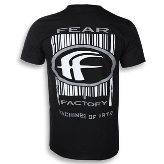 t-shirt metal uomo Fear Factory - MACHINES OF HATE - PLASTIC HEAD, PLASTIC HEAD, Fear Factory