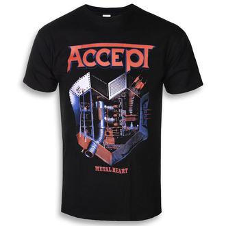 t-shirt metal uomo Accept - METAL HEART 1 - PLASTIC HEAD, PLASTIC HEAD, Accept