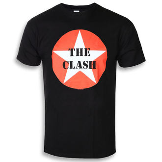 t-shirt metal uomo Clash - STAR BADGE - PLASTIC HEAD, PLASTIC HEAD, Clash