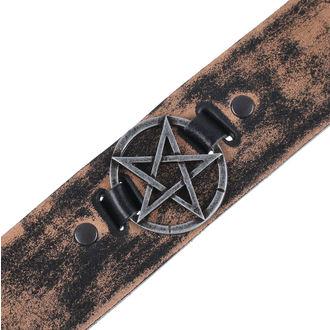 Cintura Pentagramma - brown