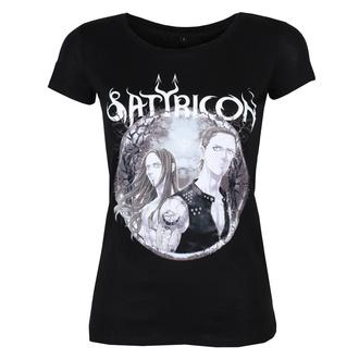t-shirt metal donna Satyricon - Manga - NNM, NNM, Satyricon