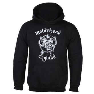 felpa con capuccio uomo Motörhead - England - ROCK OFF, ROCK OFF, Motörhead