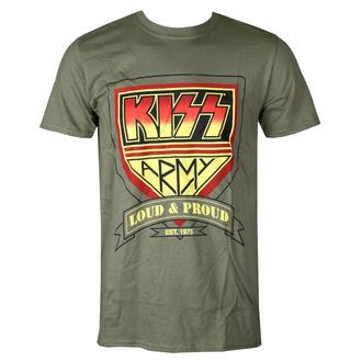 t-shirt metal uomo Kiss - Loud & Proud - ROCK OFF, ROCK OFF, Kiss