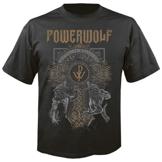 t-shirt metal uomo Powerwolf - Wolf cross - NUCLEAR BLAST, NUCLEAR BLAST, Powerwolf