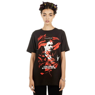 t-shirt hardcore unisex - Frida Flowers - DISTURBIA, DISTURBIA