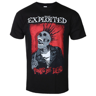 t-shirt metal uomo Exploited - Splatter/Punks Not Dead - RAZAMATAZ, RAZAMATAZ, Exploited