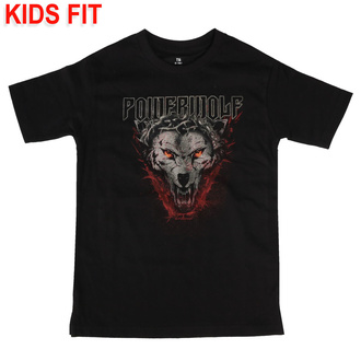 t-shirt metal bambino Powerwolf - (Icon Wolf) - Metal-Kids, Metal-Kids, Powerwolf
