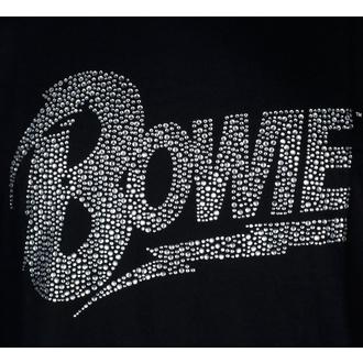 t-shirt metal uomo David Bowie - Logo - ROCK OFF, ROCK OFF, David Bowie