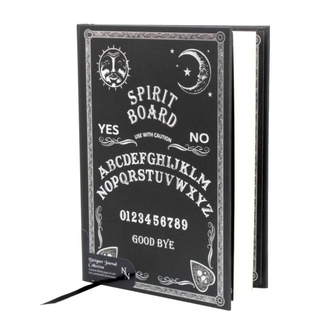 bloc notes Embossed Journal Black and White Spirit Board , NNM