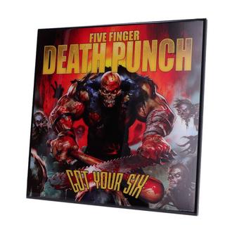 Pannello Five Finger Death Punch - Got Your Six, NNM, Five Finger Death Punch