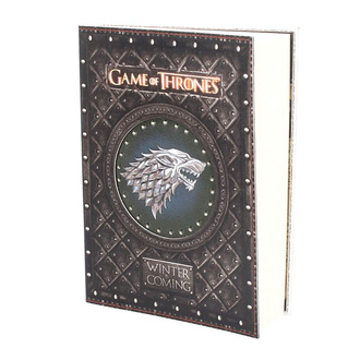 Taccuino Game of thrones - Winter is Coming, NNM, Il trono di spade