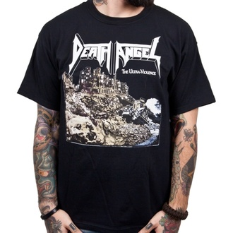 t-shirt metal uomo Death Angel - Ultra-Violence - INDIEMERCH, INDIEMERCH, Death Angel