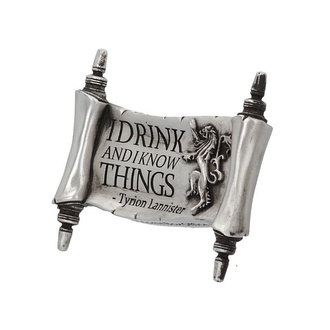 Magnete Game of thrones - I Drink and I Know, NNM, Il trono di spade