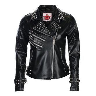 Da donna (motociclista) giacca BLACK PISTOL - Rockers Lady - Cielo Nero, BLACK PISTOL