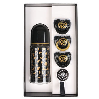 Set regalo bambino ROCK STAR BABY - GOLD LEOPARD, ROCK STAR BABY