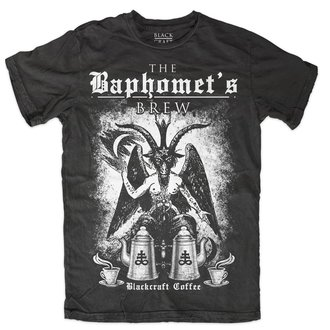 t-shirt uomo - Baphomet Brew - BLACK CRAFT, BLACK CRAFT