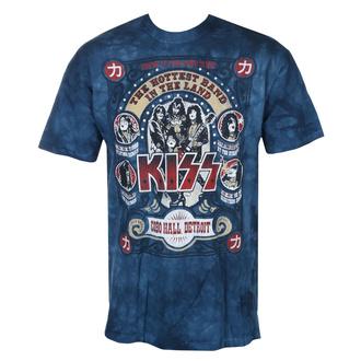 t-shirt metal uomo Kiss - COBO HALL - LIQUID BLUE, LIQUID BLUE, Kiss