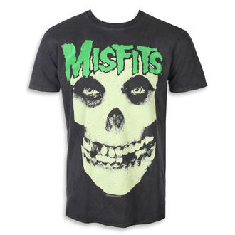 t-shirt metal uomo Misfits - LARGE SKULL - PLASTIC HEAD, PLASTIC HEAD, Misfits