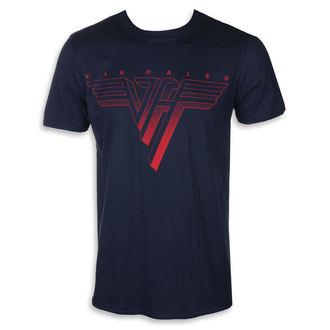 t-shirt metal uomo Van Halen - CLASSIC RED LOGO - PLASTIC HEAD, PLASTIC HEAD, Van Halen