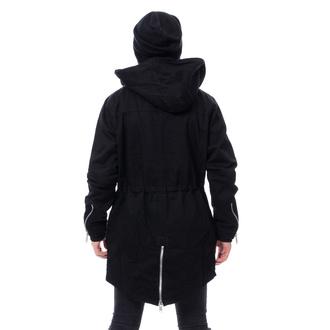 Uomo giacca CHEMICAL BLACK - BASTIAN PARKA - NERO, CHEMICAL BLACK