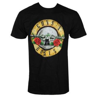 t-shirt metal uomo Guns N' Roses - DISTRESSED BULLET - BRAVADO, BRAVADO, Guns N' Roses