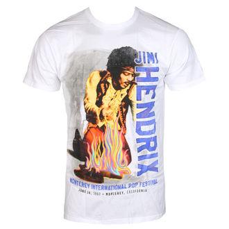 t-shirt metal uomo Jimi Hendrix - RAINBOW GUITAR FIRE - BRAVADO, BRAVADO, Jimi Hendrix