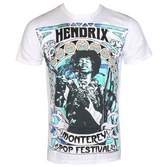 t-shirt metal uomo Jimi Hendrix - MONTEREY '67 - BRAVADO, BRAVADO, Jimi Hendrix