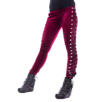 pantaloni (ghette) CHEMICAL BLACK - BEETLE - ROSSO, CHEMICAL BLACK