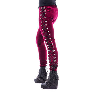 pantaloni (ghette) CHEMICAL BLACK - BEETLE - ROSSO, CHEMICAL BLACK