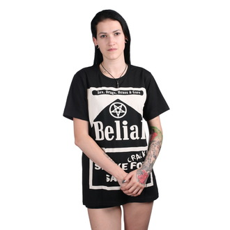t-shirt unisex - Smoke Crack for Satan - BELIAL, BELIAL