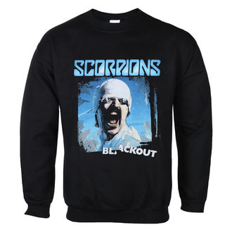 felpa senza cappuccio uomo Scorpions - Blackout - LOW FREQUENCY, LOW FREQUENCY, Scorpions